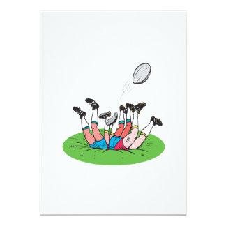 Rugby Scrum Card