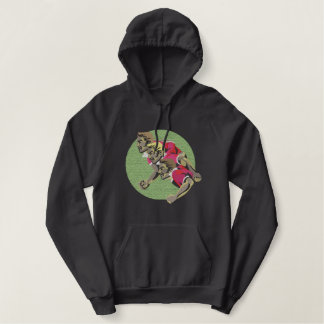Rugby Scrum Embroidered Hoodie