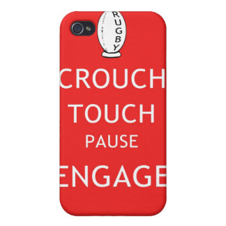 Rugby scrum instructions (old) iPhone 4/4S cover