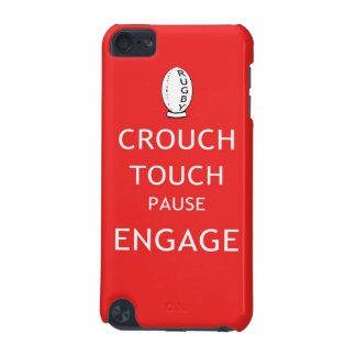 Rugby scrum instructions (old) iPod touch (5th generation) cases
