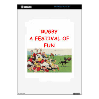 RUGBY SKINS FOR iPad 2