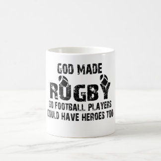 Rugby - So Football Players Have Heroes Coffee Mug