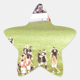Rugby Star Sticker