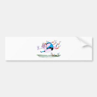 rugby steamroller, tony fernandes bumper sticker