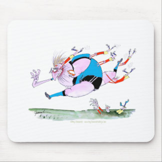 rugby steamroller, tony fernandes mouse pad