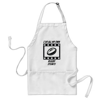 Rugby Stunts Aprons