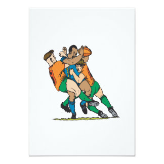 Rugby Tackle 2 Card