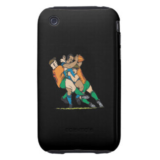 Rugby Tackle 2 iPhone 3 Tough Cases