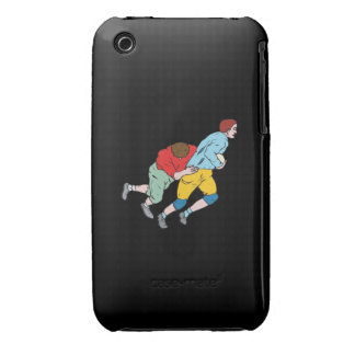Rugby Tackle iPhone 3 Covers