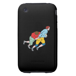 Rugby Tackle Tough iPhone 3 Cases