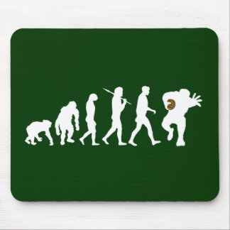 Rugby team Rugby players evolution sports Mouse Pad