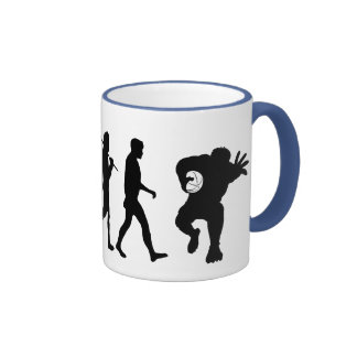 Rugby team Rugby players evolution sports Mug