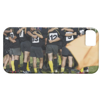 Rugby team standing in a circle iPhone SE/5/5s case