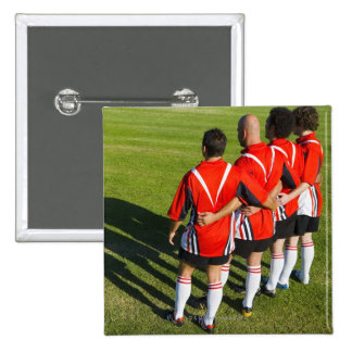 Rugby teammates button