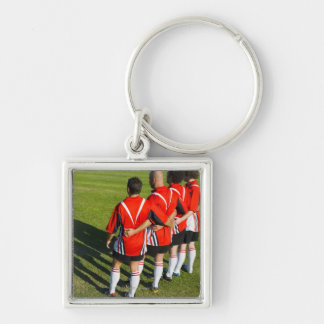 Rugby teammates keychain