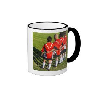 Rugby teammates ringer mug