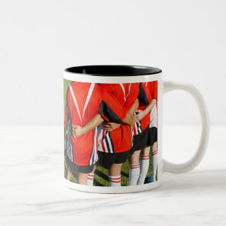 Rugby teammates Two-Tone coffee mug