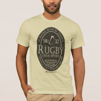 "Rugby ""True Sport"" (jbRUGBY) T-Shirt"
