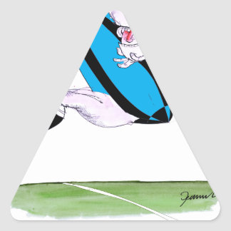 rugby try, tony fernandes triangle sticker