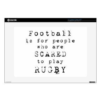 Rugby Type png Calcomanía Para Portátil