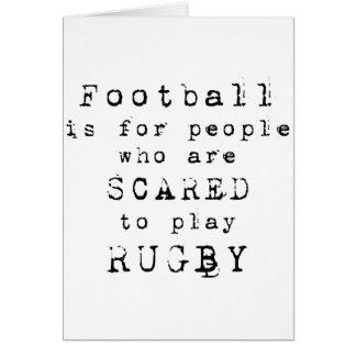 Rugby Type png Tarjetas