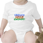 Rugby Union Crouch Touch Pause Engage Tshirt