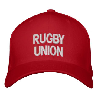 Rugby Union Embroidered Baseball Cap