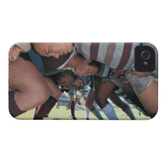 Rugby Union Players in a Scrum iPhone 4 Case-Mate Case