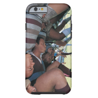 Rugby Union Players in a Scrum Tough iPhone 6 Case