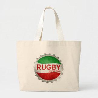 rugby vasco festiva deporte bolsa tela grande