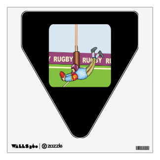 rugby wall decals amp wall stickers zazzle pinterest the world s catalogue of ideas