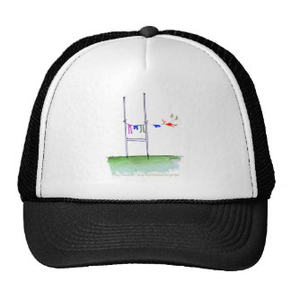 rugby wash day, tony fernandes trucker hat