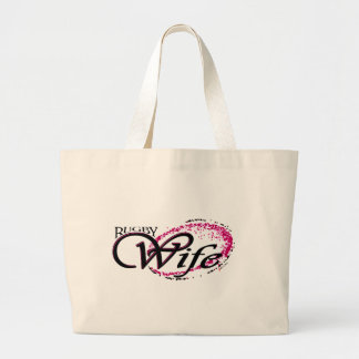 rugby wife canvas bags