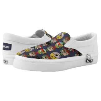 Rugby Zipz Slip On Shoes, US Men 4 / US Women 6 Printed Shoes