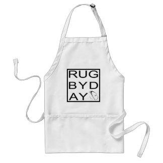 rugbyday adult apron