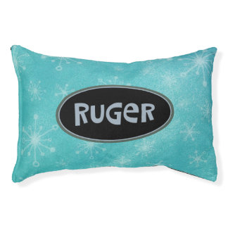Ruger Personalized Pet Bed