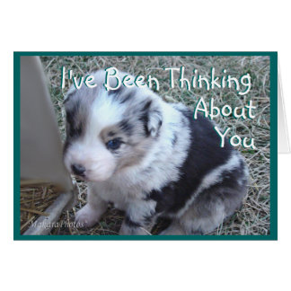 Ruger Thinking-customize any occasion Card