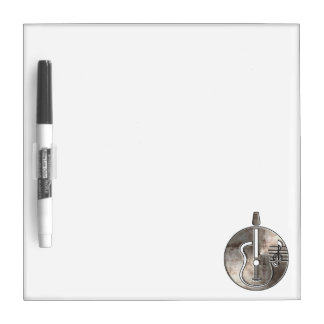 Rugged Acoustic Guitar Dry-Erase Boards