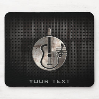 Rugged Acoustic Guitar Mouse Pad