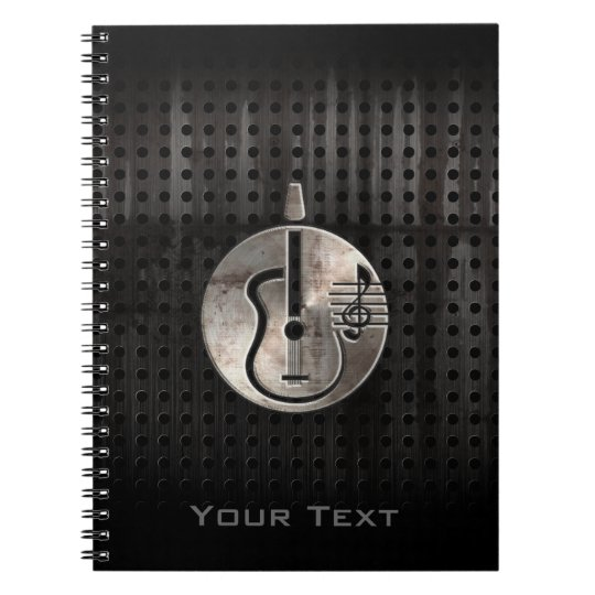 Rugged Acoustic Guitar Notebook