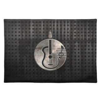 Rugged Acoustic Guitar Placemats