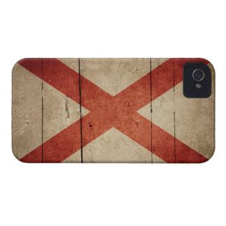Rugged Alabama Flag iPhone 4 Case-Mate Cases