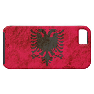 Rugged Albanian Flag iPhone 5 Cover
