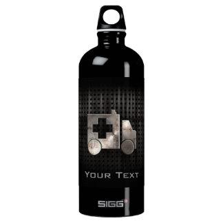 Rugged Ambulance Aluminum Water Bottle