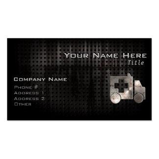 Rugged Ambulance Business Card Template