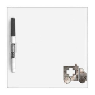 Rugged Ambulance Dry-Erase Board