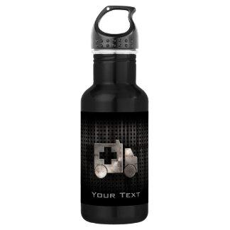 Rugged Ambulance 18oz Water Bottle