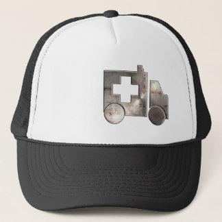 Rugged Ambulance Trucker Hat