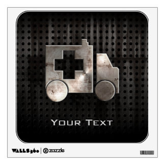 Rugged Ambulance Wall Decal