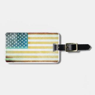 Rugged American Luggage Tag